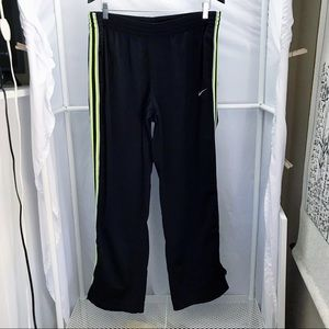 Nike Track Pants w/ Neon Side Stripe XL